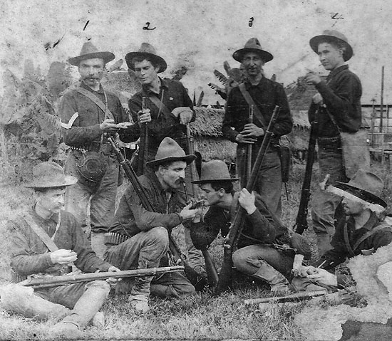 1st Idaho Volunteer Infantry, Co. B, 1898