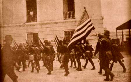 2nd Wisconsin Volunteer Infantry in Ponce, Puerto Rico, 1898