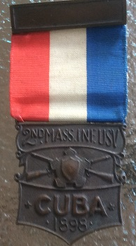 Front - 2nd Massachusetts Volunteer Infantry Commemorative Medal
