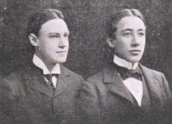 Walter Sharpe and Dillwyn Bell
