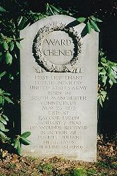 Grave of Ward Cheney, 4th U.S. Infantry, in Connecticut