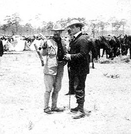 Richard Harding Davis and Theodore Roosevelt